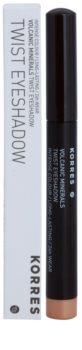 Korres Volcanic Minerals стійкі тіні-олівець для повік