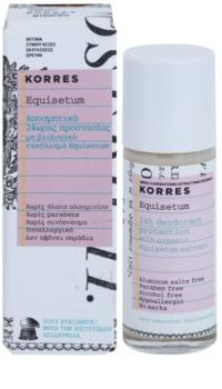 Korres Equisetum golyós dezodor aluminium-só nélkül 24h