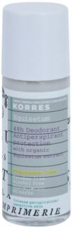 Korres Equisetum dezodorant roll-on bez parfumácie 48h