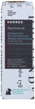 Korres Equisetum Deodorant roll-on 48 de ore