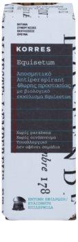 Korres Equisetum desodorante roll-on  48h