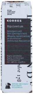 Korres Equisetum Roll-On Deodorant 48 Std.