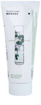 Korres Hair Aloe and Dittany balsam pentru par normal