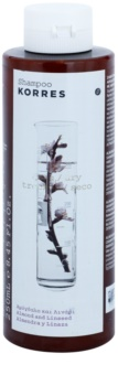 Korres Almond & Linseed шампунь для сухого та пошкодженого волосся