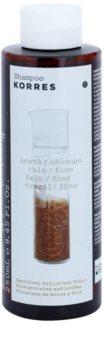 Korres Rice Proteins & Linden šampón pre jemné vlasy