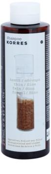 Korres Rice Proteins & Linden Shampoo für feines Haar