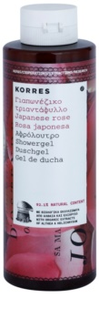 Korres Japanese Rose gel de duche hidratante