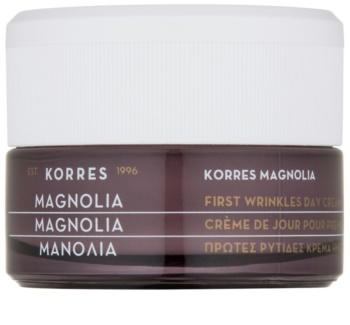 Korres Magnolia Day Cream Against First Wrinkles SPF15