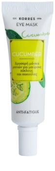 Korres Cucumber masque yeux anti-poches et anti-cernes