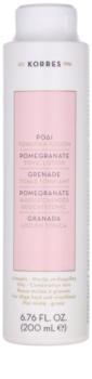 Korres Pomegranate lotion tonique visage pour peaux mixtes à grasses