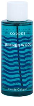 Korres Summer Wood woda kolońska unisex 100 ml