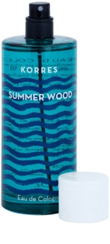 Korres Summer Wood kolinská voda unisex 100 ml