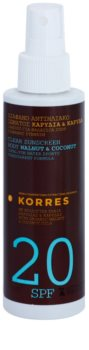 Korres Walnut & Coconut Niet-Vettende Bruinings Emulsie  SPF 20