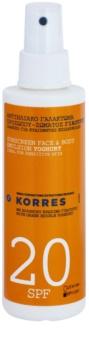 Korres Sun Care Yoghurt Zonne Emulsie  SPF 20