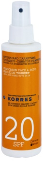 Korres Yoghurt Emulsion For Sunbathing SPF 20