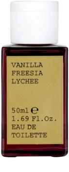 Korres Vanilla (Freesia/Lychee) eau de toilette pentru femei 50 ml