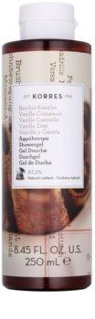 Korres Vanilla Cinnamon gel de ducha