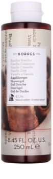 Korres Vanilla Cinnamon Shower Gel