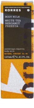 Korres White Tea (Bergamot/Freesia) leche corporal unisex 125 ml