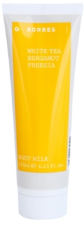 Korres White Tea, Bergamot & Freesia Körperlotion unisex 125 ml