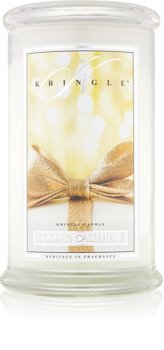 Kringle Candle Gold & Cashmere scented candle