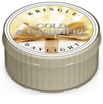 Kringle Candle Gold & Cashmere čajna sveča 35 g