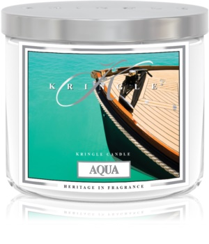 Kringle Candle Aqua scented candle I.