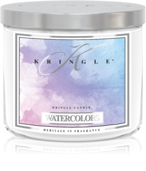 Kringle Candle Watercolors dišeča sveča  I.