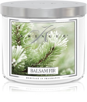 Kringle Candle Balsam Fir scented candle I.