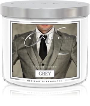 Kringle Candle Grey Geurkaars 411 gr I.