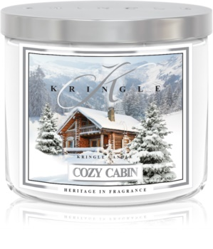 Kringle Candle Cozy Cabin Scented Candle 411 g I.
