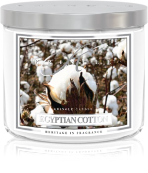 Kringle Candle Egyptian Cotton dišeča sveča  411 g I.