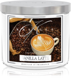 Kringle Candle Vanilla Latte vonná sviečka 411 g I.