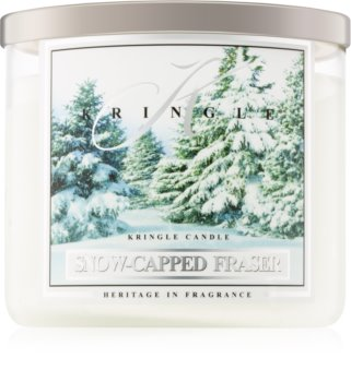 Kringle Candle Snow Capped Fraser dišeča sveča  I.