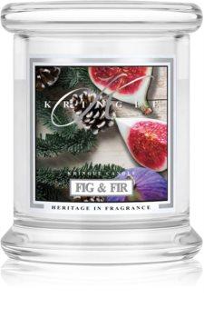 Kringle Candle Fig & Fir dišeča sveča  127 g