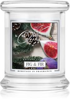 Kringle Candle Fig & Fir vonná svíčka 127 g