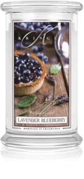 Kringle Candle Lavender Blueberry scented candle