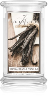 Kringle Candle Tonka Bean & Vanilla dišeča sveča  624 g