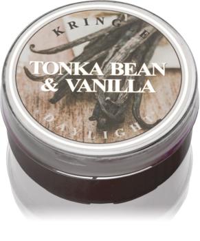 Kringle Candle Tonka Bean & Vanilla čajna sveča