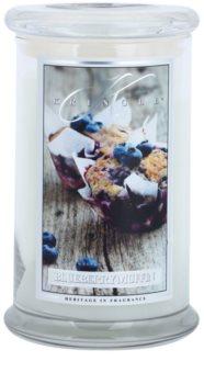 Kringle Candle Blueberry Muffin vonná svíčka 624 g