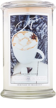 Kringle Candle Cashmere & Cocoa lumânare parfumată  624 g