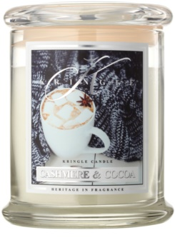 Kringle Candle Cashmere & Cocoa dišeča sveča