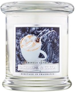 Kringle Candle Cashmere & Cocoa dišeča sveča