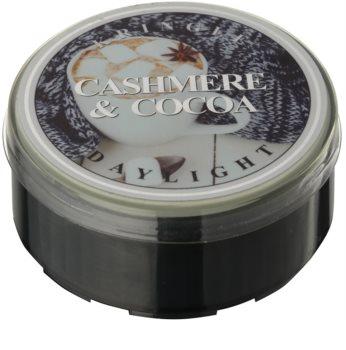 Kringle Candle Cashmere & Cocoa čajová sviečka 35 g