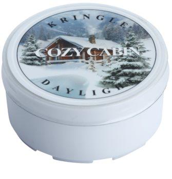 Kringle Candle Cozy Cabin bougie chauffe-plat 35 g