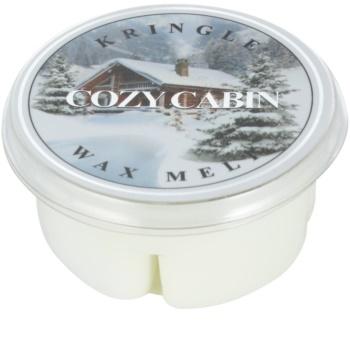 Kringle Candle Cozy Cabin illatos viasz aromalámpába 35 g