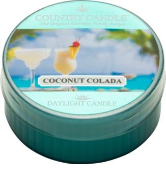 Kringle Candle Country Candle Coconut Colada čajová svíčka 42 g