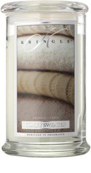 Kringle Candle Comfy Sweater vonná sviečka 624 g