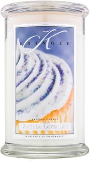 Kringle Candle Vanilla Lavender lumânare parfumată  624 g