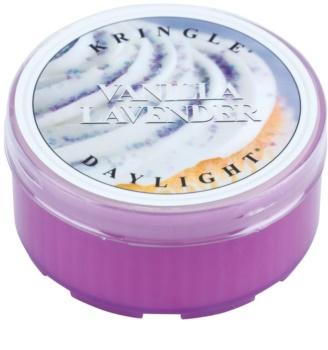 Kringle Candle Vanilla Lavender čajová svíčka 35 g